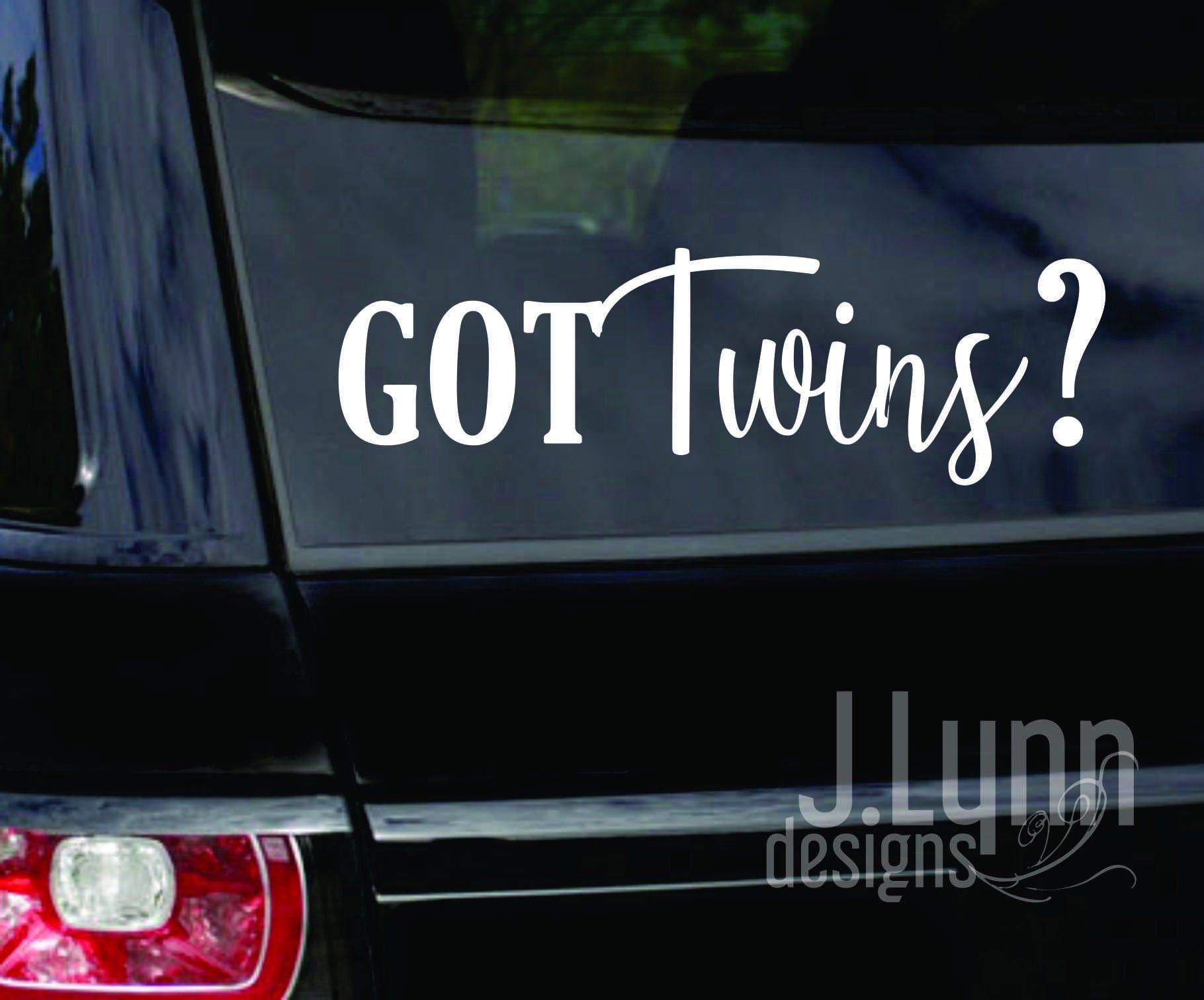 Got Multiples Twins Triplets Quads Car Decals Window Graphic Babies Vinyl Sticker Family Decal Twin Sticker Triplet St Family Decals Baby Decals Kids Decals [ 1512 x 1820 Pixel ]