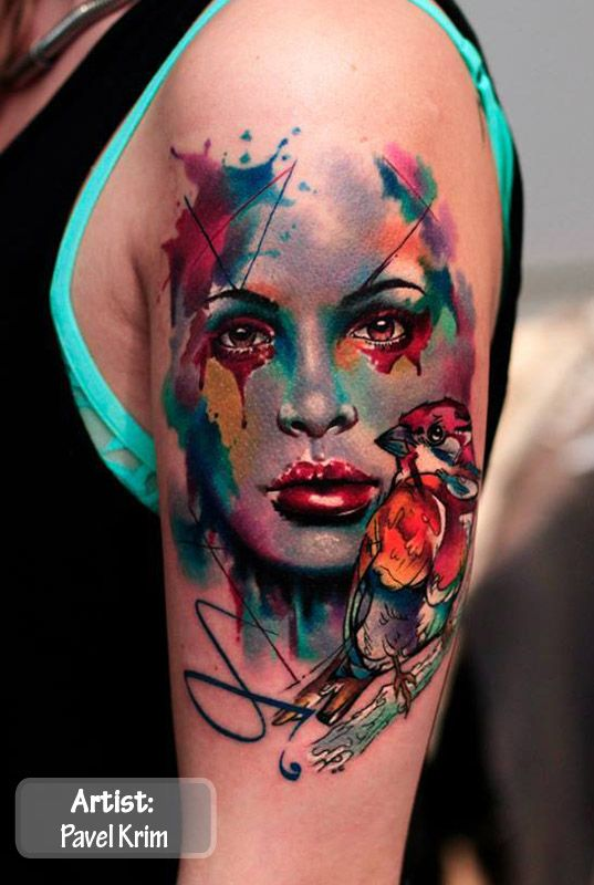 The Best Color Tattoos In The World, Colorful Tattoos, The