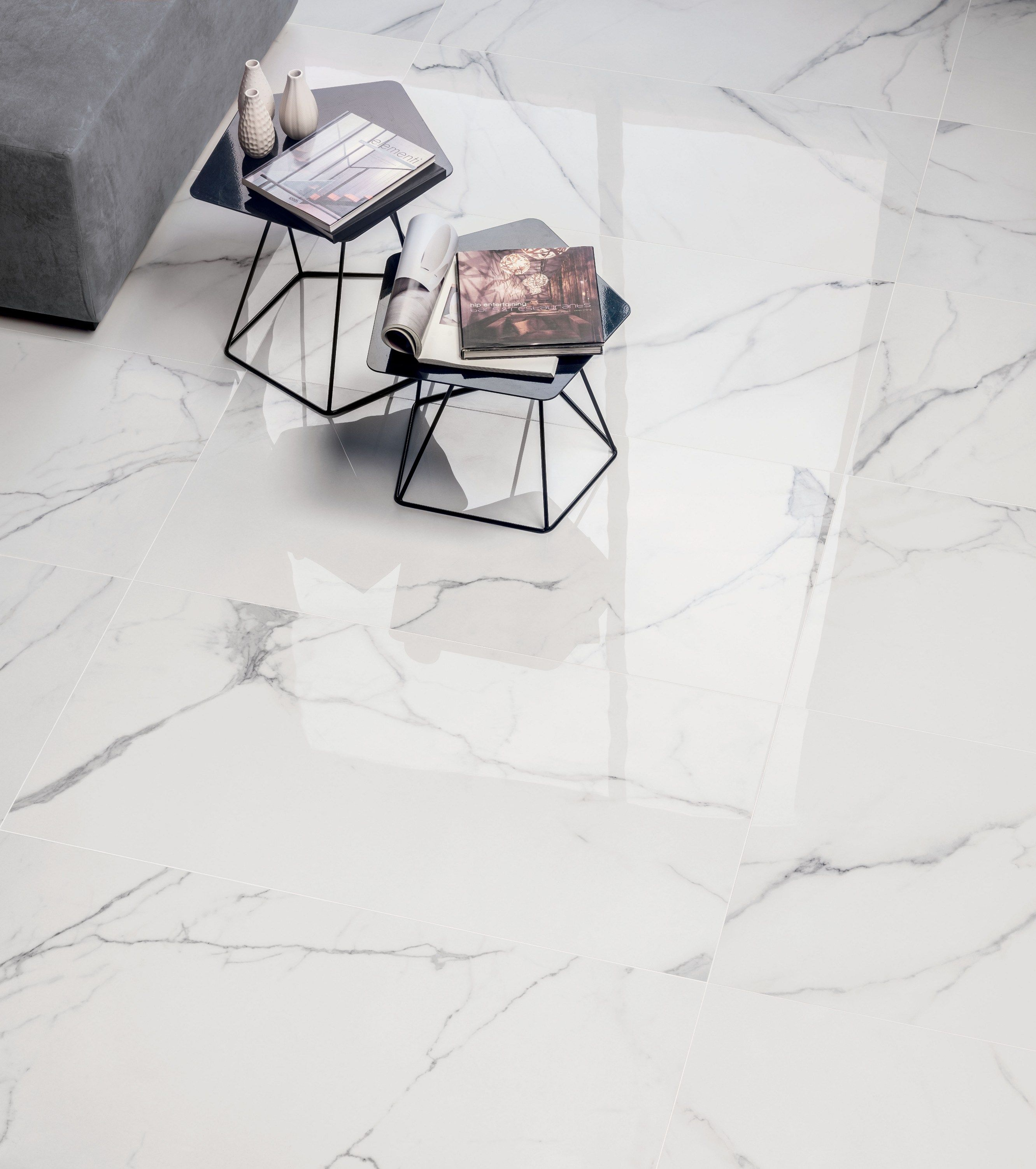 Wall Floor Tiles With Marble Effect Supreme By Flaviker Contemporary Eco Ceramics Porcelanato Marmorizado Porcelanato Para Sala Porcelanato