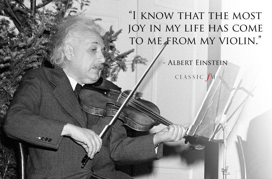 albert einstein violin quote clara and elsie ideas