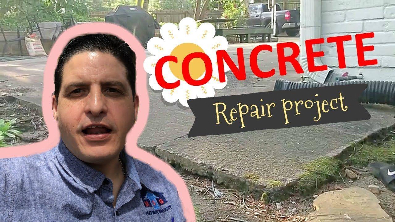 Concrete driveway restoration. How to pour a concrete slab