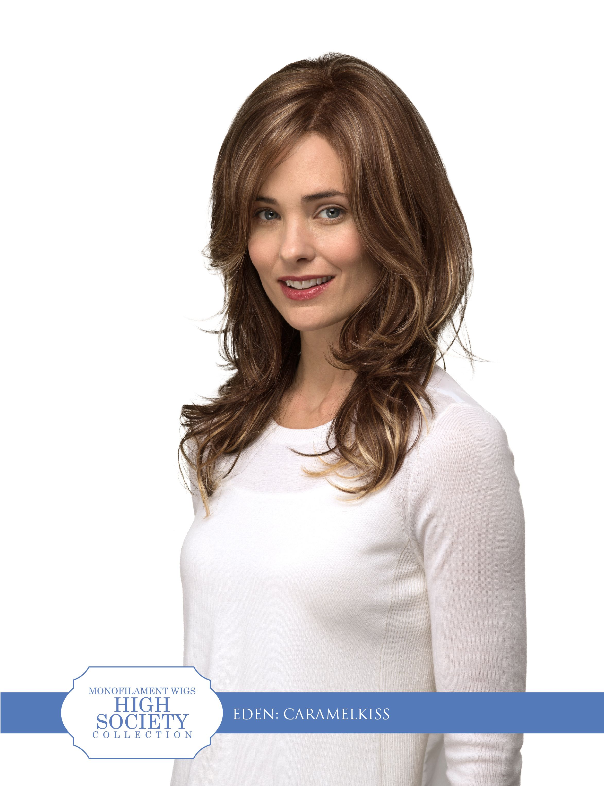 MONOFILAMENT TOP | LACE FRONT | Long, Layered Cut with Free Flowing ...
