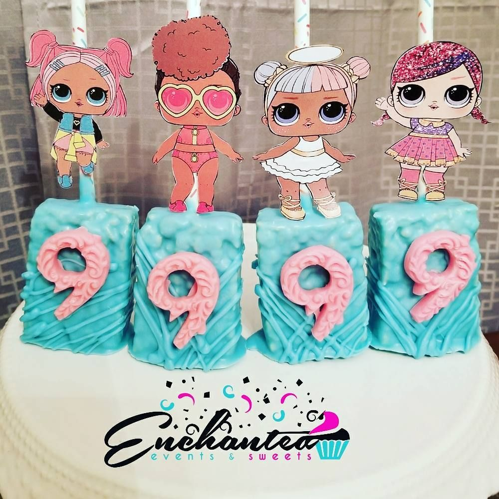 LOL Surprise Doll Contact @enchantedeventsandsweets For