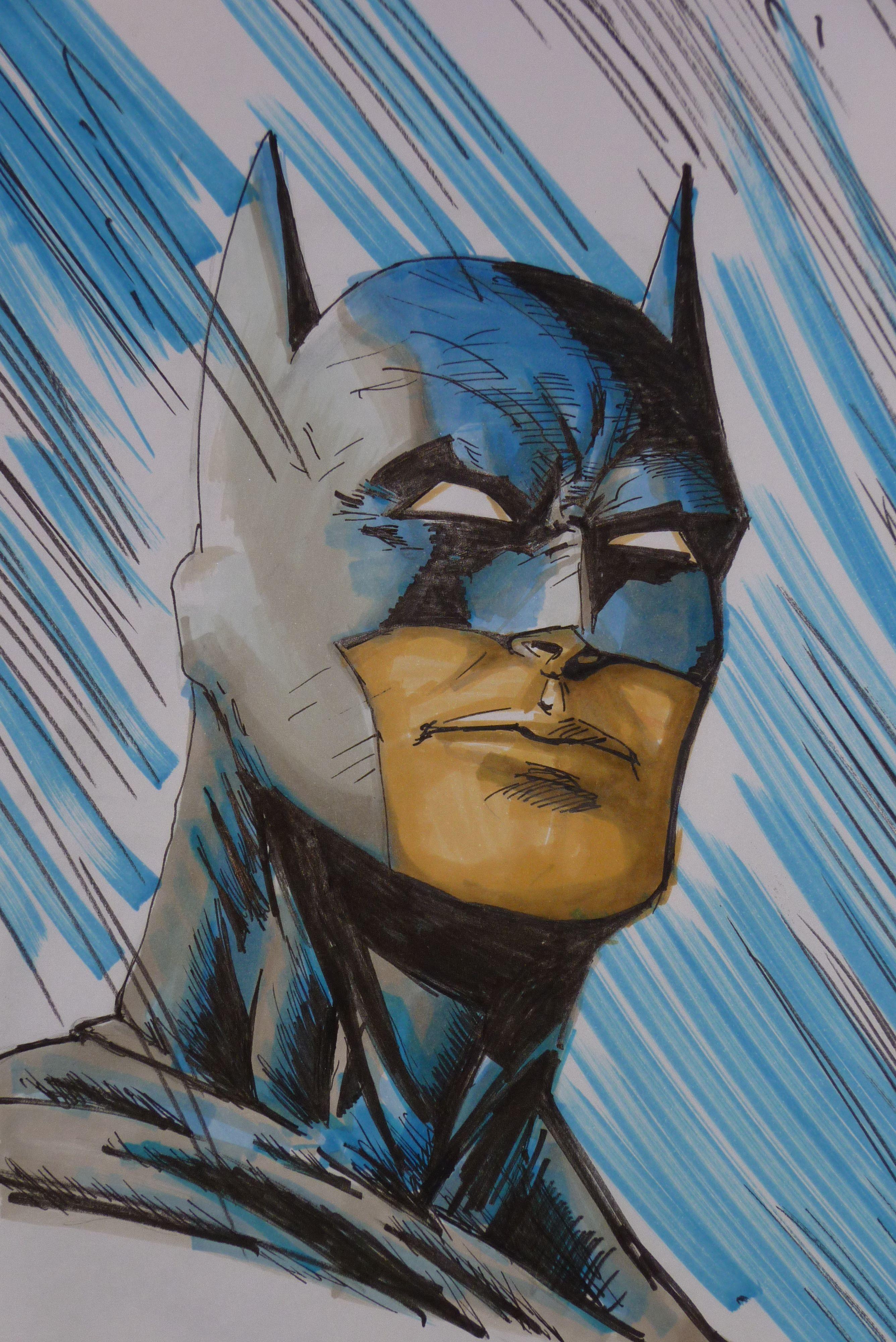 Batman a rotulador