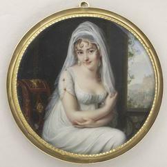 Jean-Battiste Augustin, Juliette Récamier, ca. 1801   à la Vestale