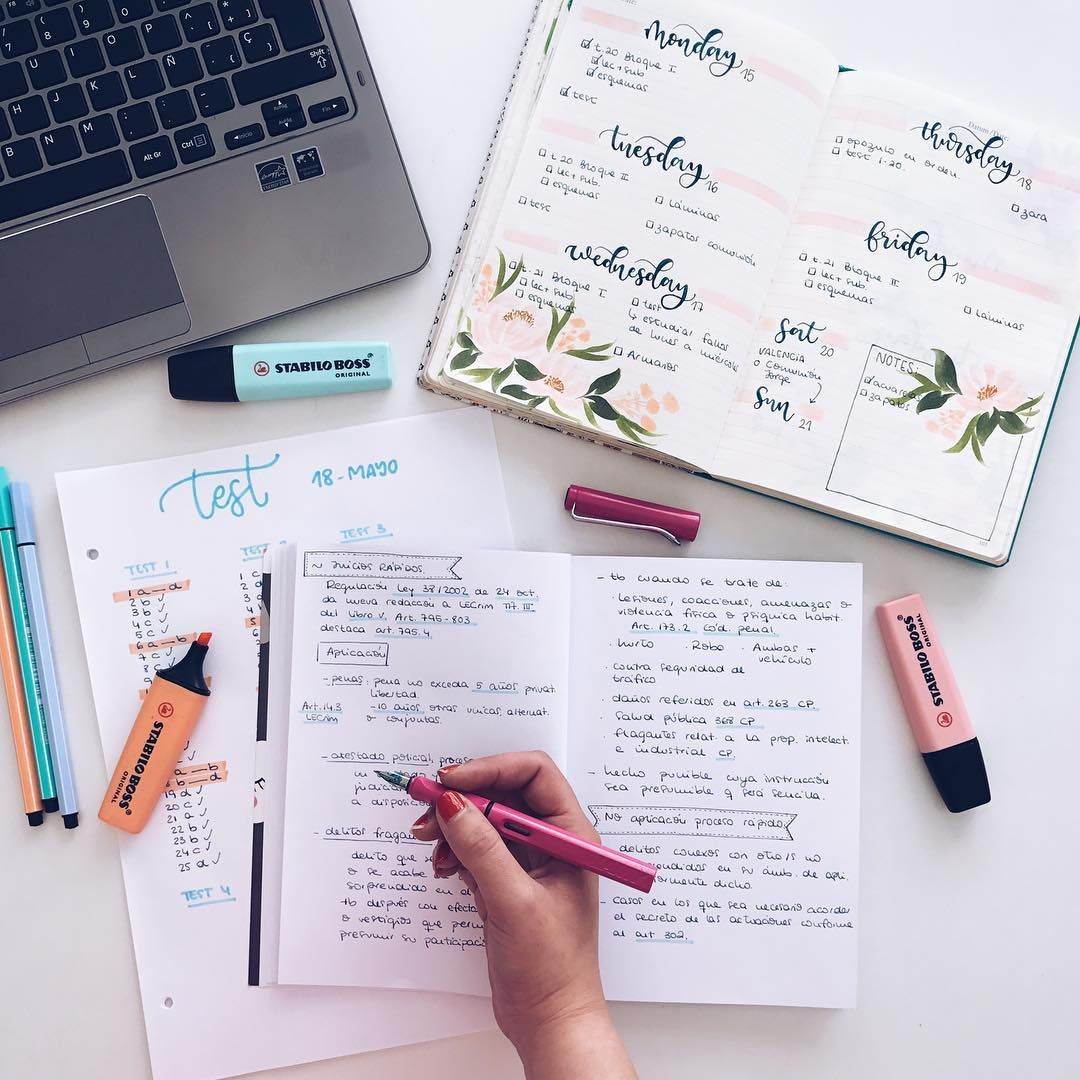 2,016 Likes, 11 Comments - Bullet Journal & Studygram ...