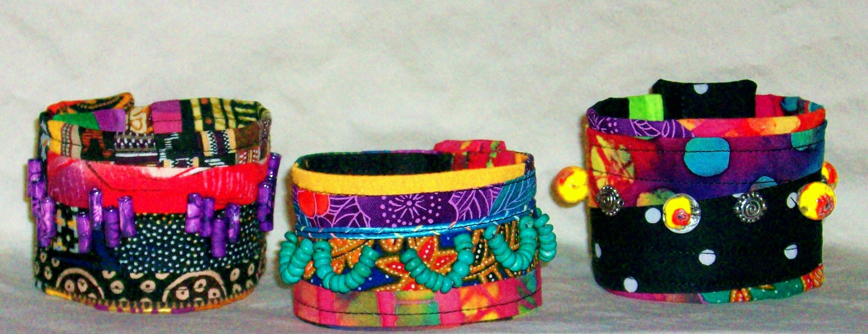Fanciful cuffs. These would be fun!