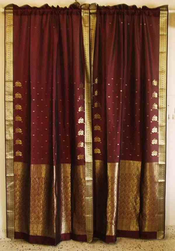 Sari Drapes Window Treatment Blinds And Window Shade Curtain Curtains Diy Curtains Curtain Styles