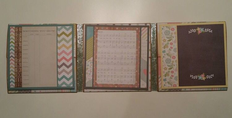 XII A Calendar Year - Foto Folio created by crafter Nicole Womble using Simple Stories, Hello Baby paper collection.   Click on the link below to purchase the tutorial.   http://shop.paperphenomenon.com/XII-A-Calendar-Year-Foto-Folio-Tutorial-Video-Combo-tutvid0135.htm