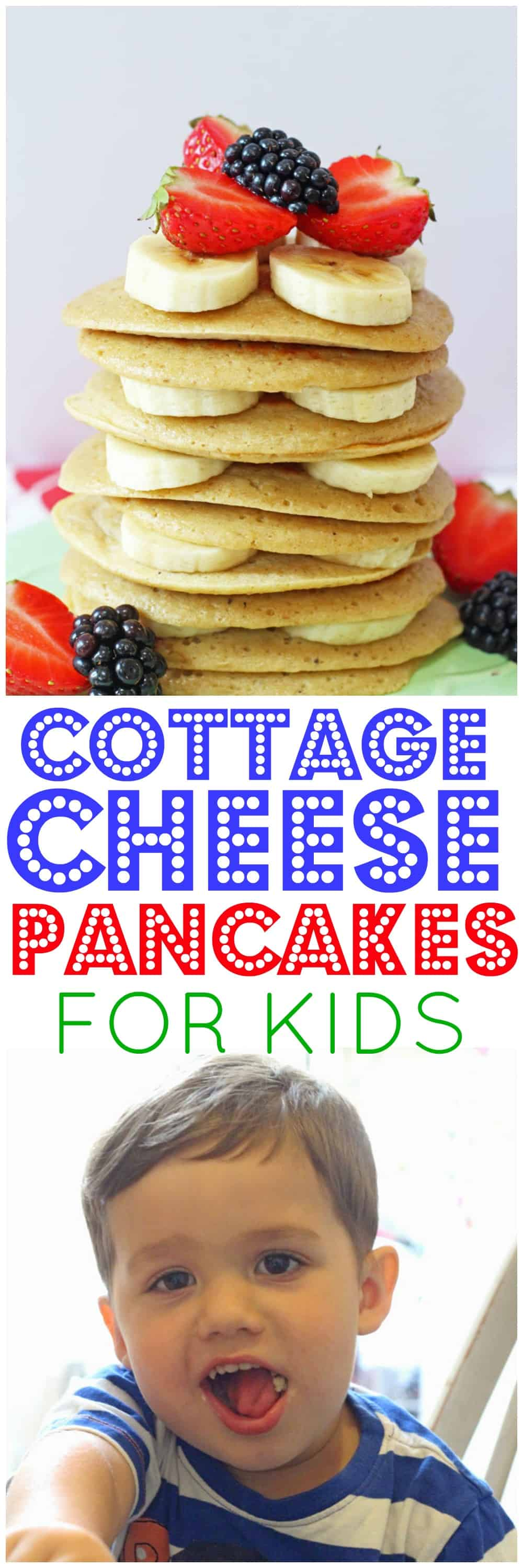 Cottage Cheese Pancakes - My Fussy Eater | Easy Kids Recipes Cottage Cheese Pancakes - My Fussy Eat