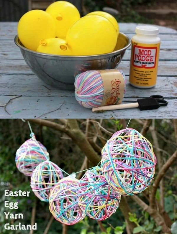 25 Cool DIY Outdoor Easter Decorating Ideas for 2019 - Gravetics