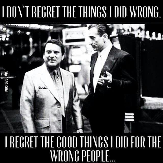 Good things - Bad things
