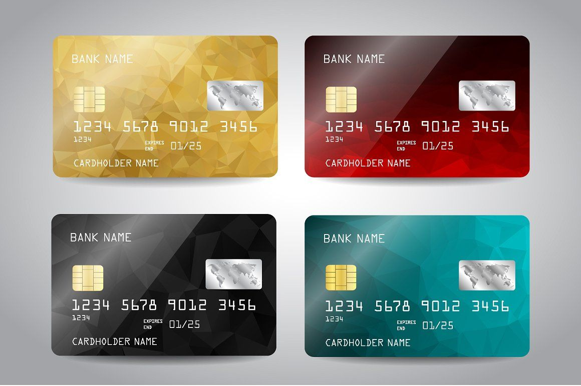 Credit Card Templates Credit Card Design Card Templates Credit