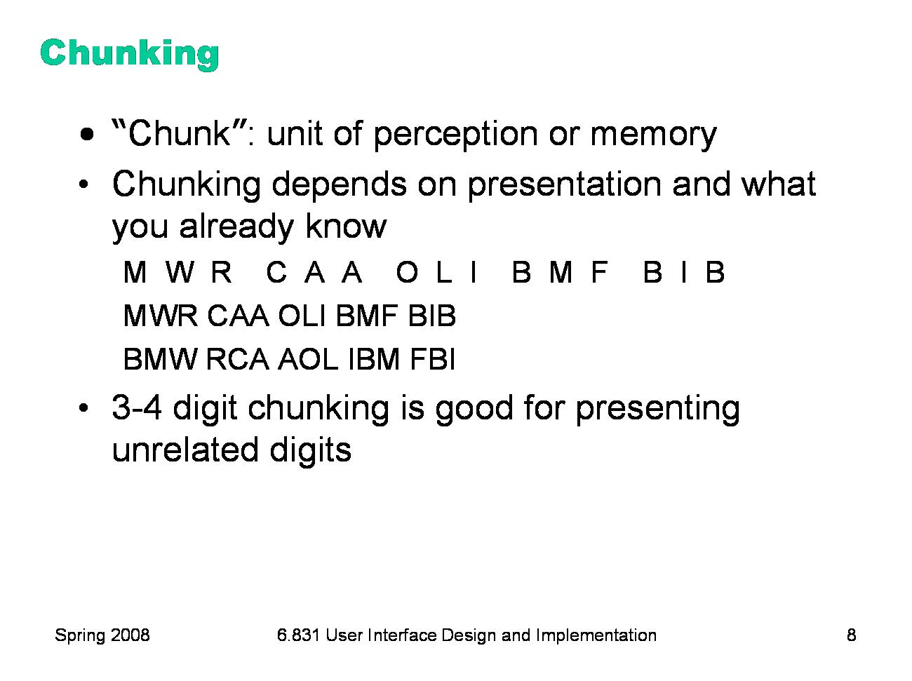 chunking examples | Mnemonic Board for Study Skills | Study skills