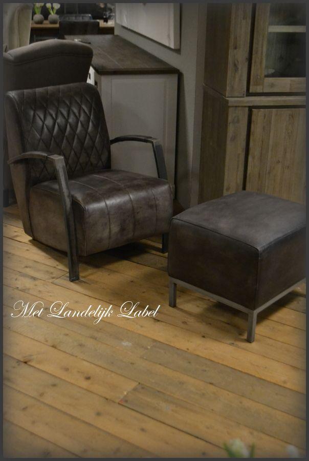Landelijke Lounge Stoel.Met Landelijk Label Fauteuil Interieur En Woonwinkel