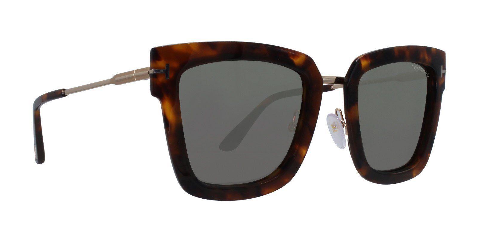 7965f9f14a50 Tom Ford - Lara-02 Tortoise Gold - Green-sunglasses-Designer Eyes ...