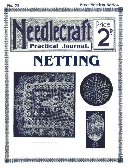 Antique Vintage Netting Instructions Patterns by 2olddivas on Etsy, $8.95
