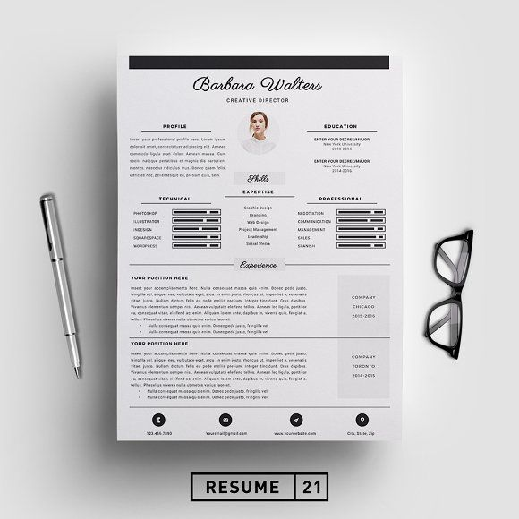 Creative Director Resume Template Cv Resume Template Cv Template How To Memorize Things