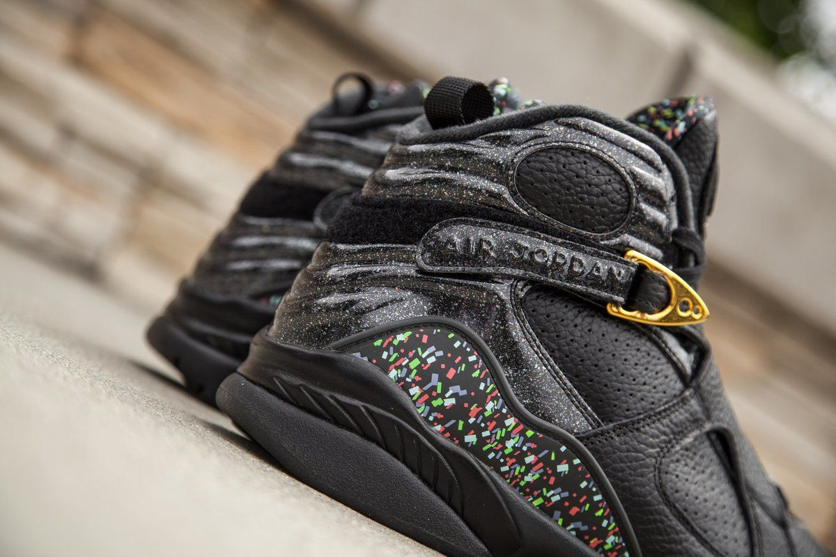 ed8447aff9e7 Check Out These New Images Of The Air Jordan 8 Championship Pack Confetti