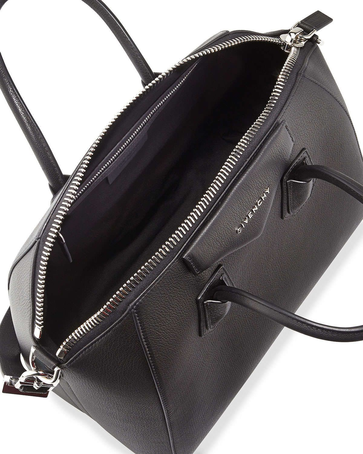 8d0b1fda09a60 Givenchy Antigona Medium Sugar Goatskin Satchel Bag | Givenchy ...