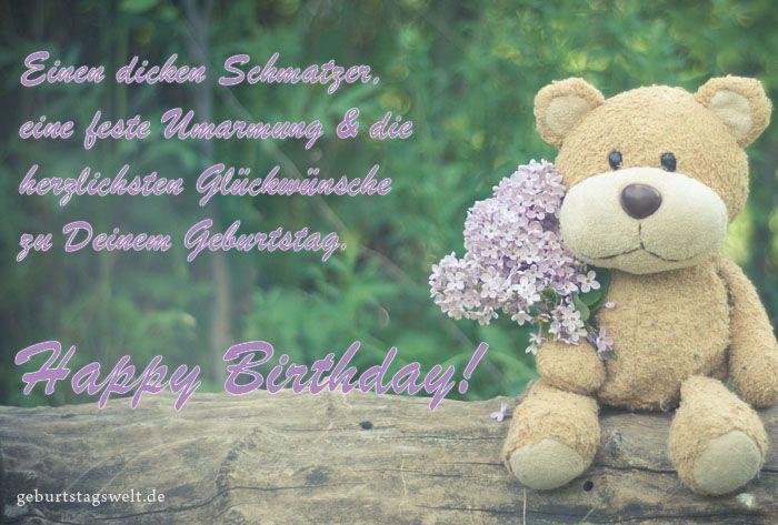 Geburtstagskarten kostenlose vorlagen zum ausdrucken und versenden gl ckw nsche pinterest - Geburtstagskarten kostenlos versenden ...