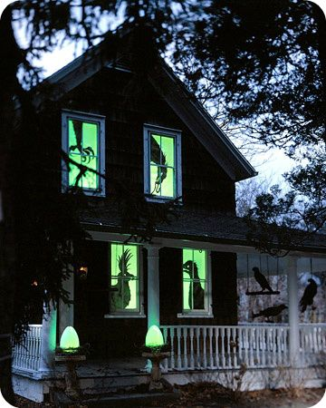 Traditional, Scary  Creepy Halloween Porch and Yard Decorating - yard decorations for halloween