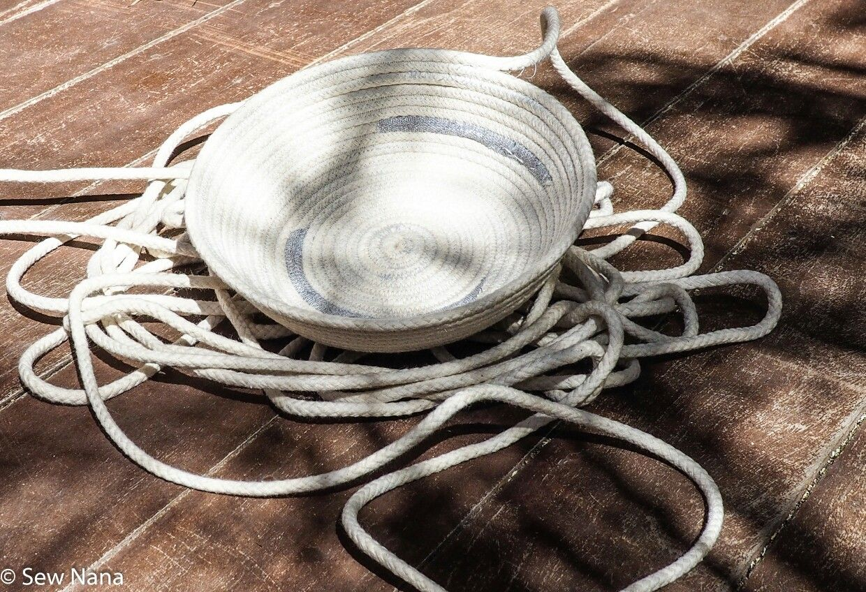 Rope Bowls are sew addictive😊😊😊