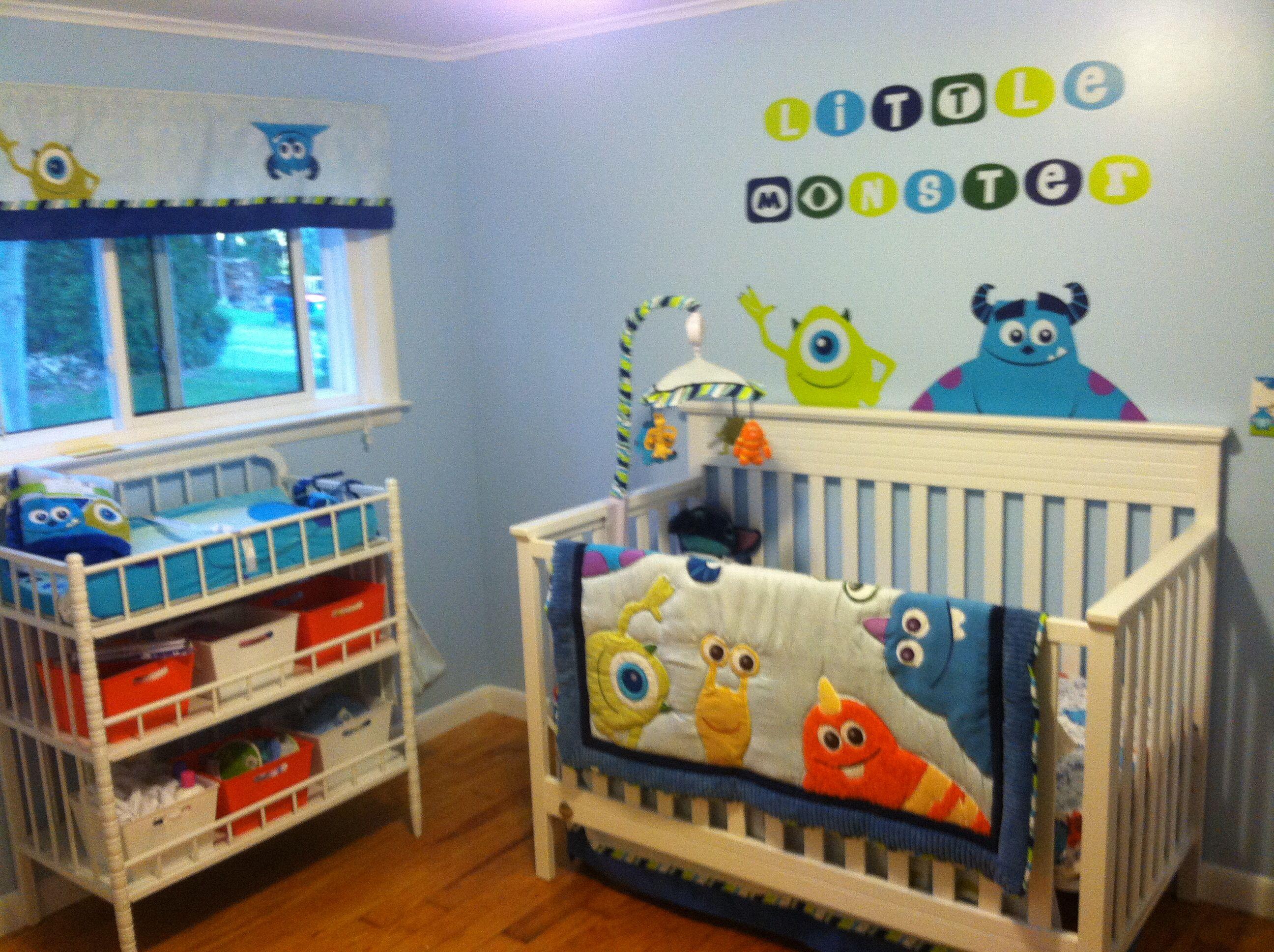 My Baby S Monsters Inc Nursery Baby Boy Nursery Themes