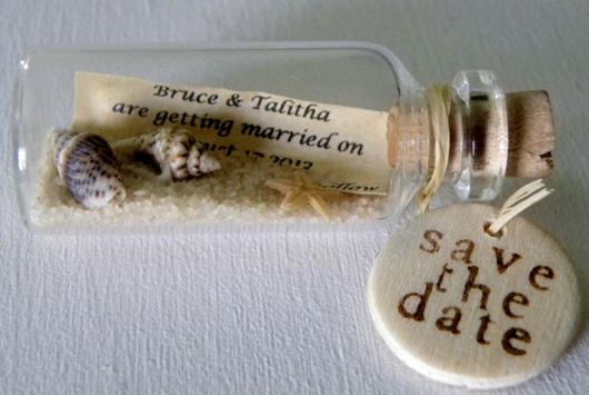 9 Unique Save the Date Ideas Beach wedding favors