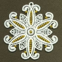 FSL Snowflake 9, 6 - 4x4 | FSL - Freestanding Lace | Machine Embroidery Designs | SWAKembroidery.com Ace Points Embroidery