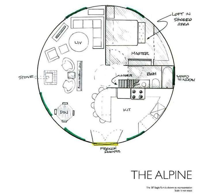 Floor Plans For Yurts: Yurt Floor Plans - Google Search