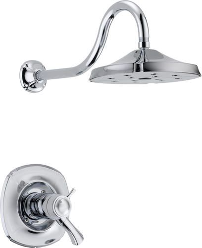 1st Choice Addison 1 Handle Thermostatic Shower Trim Kit Only