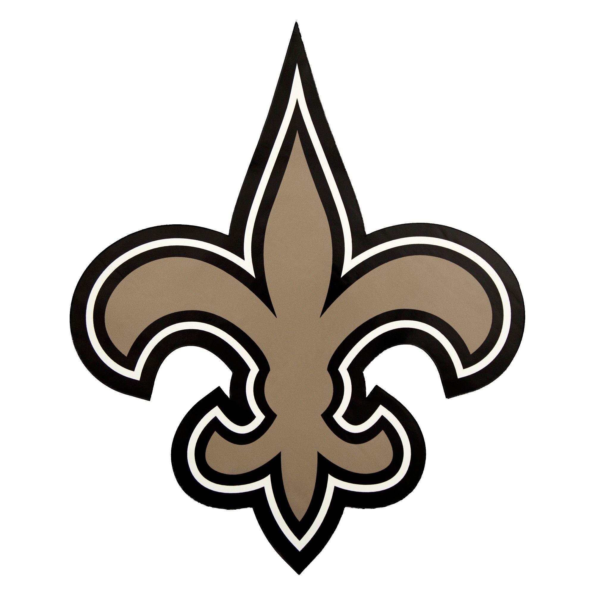 WinCraft New Orleans Saints 8 Football Vinyl Decal Car Truck Stickers NFL