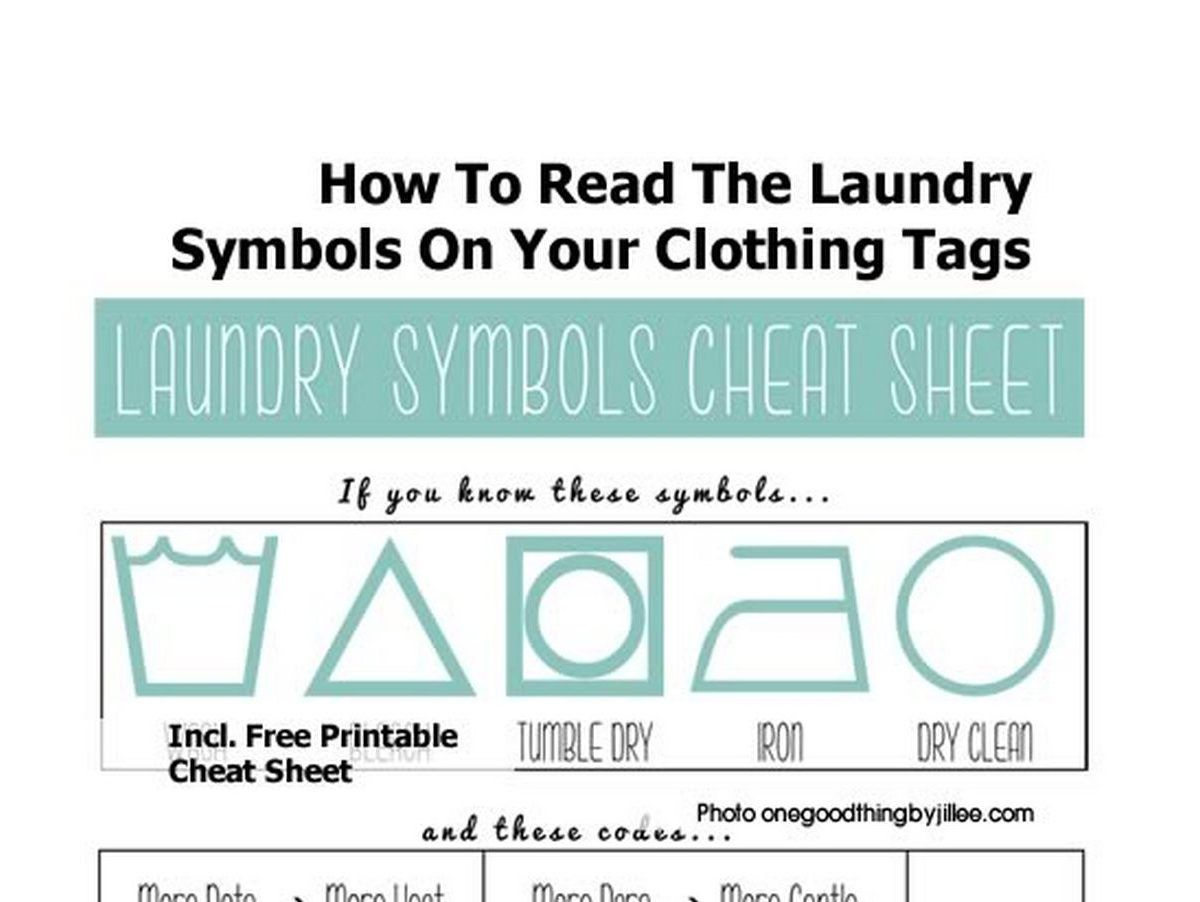 How to read the laundry symbols on your clothing tags papersnack symbols buycottarizona