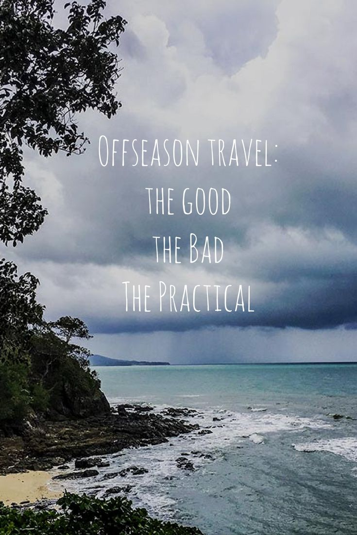 Offseason travel - love it or hate it? I put together a list of the good, the bad and the practical!