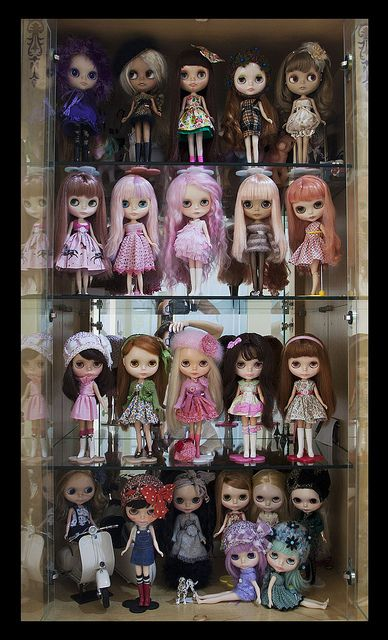 b29047bde96 My Dolls as of August 2012 :) by Yennie ~ need more dolly time..:(, via  Flickr