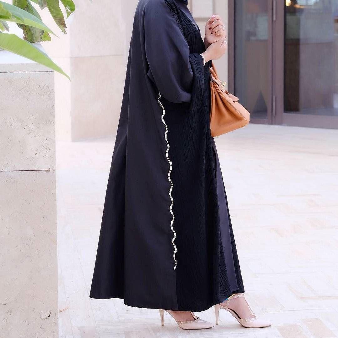 Repost Flooosha With Instatoolsapp Beautiful Abaya By Raffine Busana Muslim Layla Phasmina Raffinecollection Abayas L4l Intm And