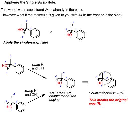 The Single Swap Rule Master Organic Chemistry Organic Chemistry Chemistry Ochem