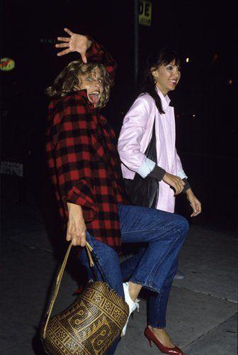 Lauren Hutton circa 1980s