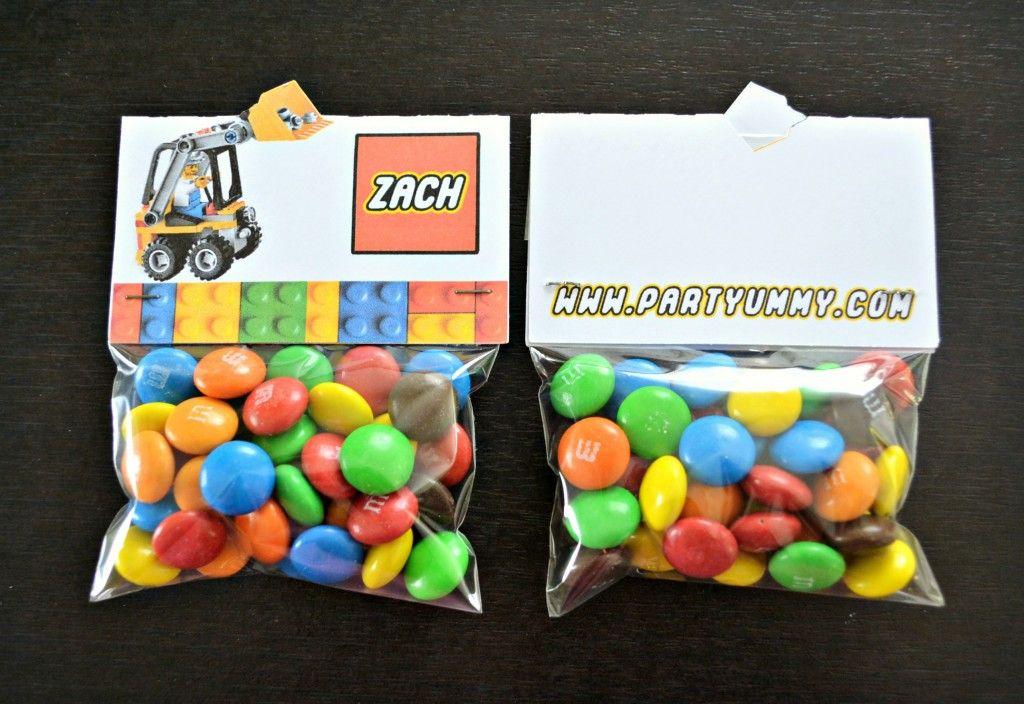 Assez sachet-bonbon-lego-anniversaire-cadeau | Lego birthday party#7  AY08