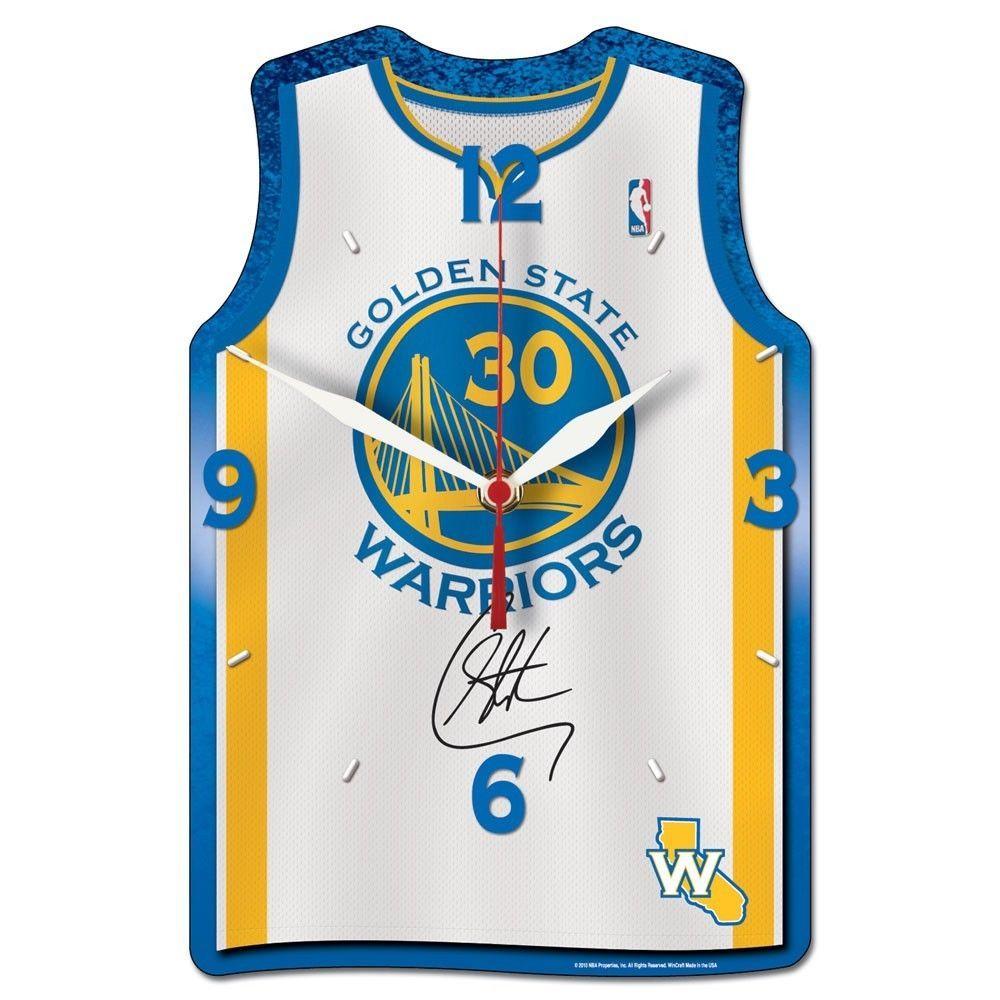 Golden State Warriors: Stephen Curry Jersey Golden State Warriors # 30 Wall Clock
