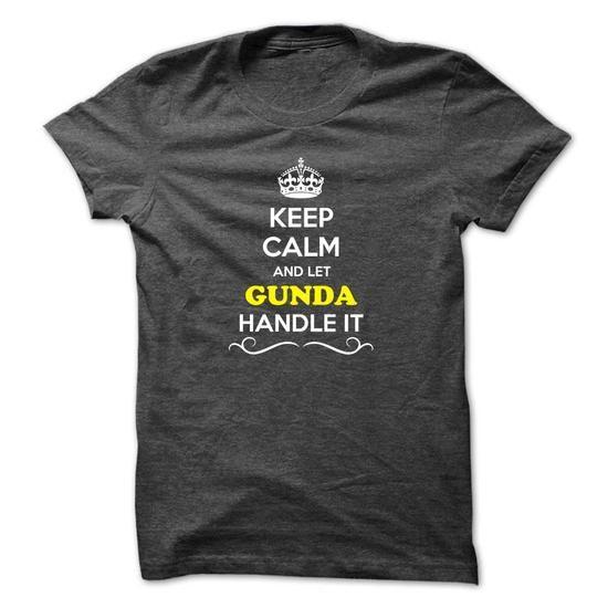 Custom T-shirts It's a GUNDA Thing