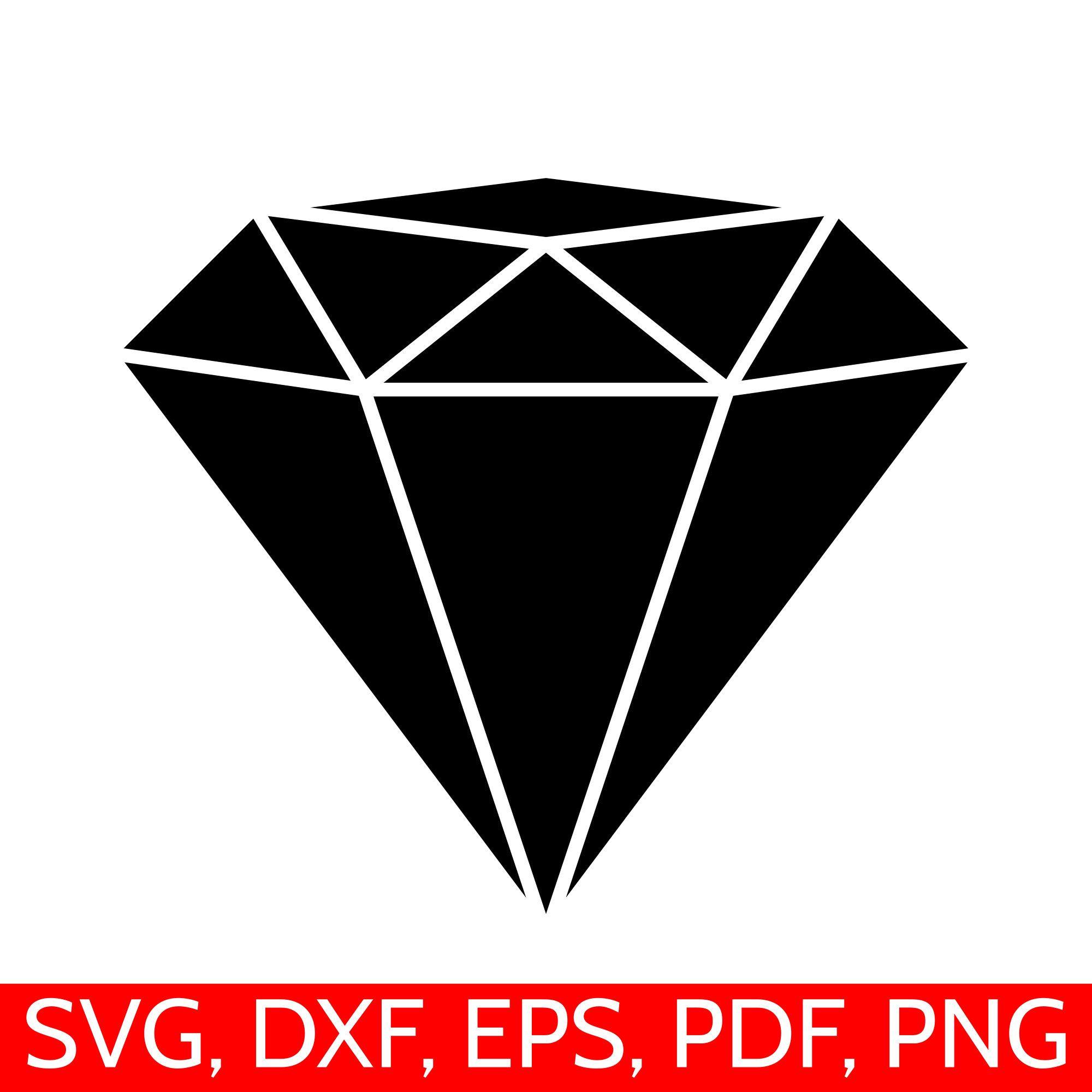 diamond svg file diamong svg cut file for cricut and silhouette rh pinterest com Black Diamond Clip Art Sparkling Diamond Clip Art
