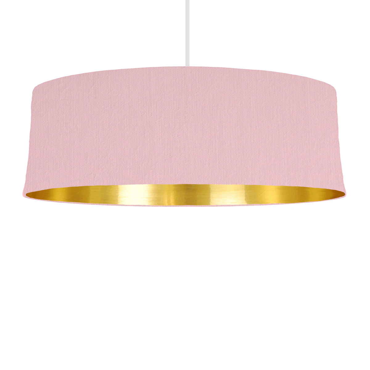 Pink bespoke lampshade with gold mirrored lining bymarie bymarie is a bespoke lampshade designer based in london specializing in custom made lampshades with mix match lining colours aloadofball Image collections