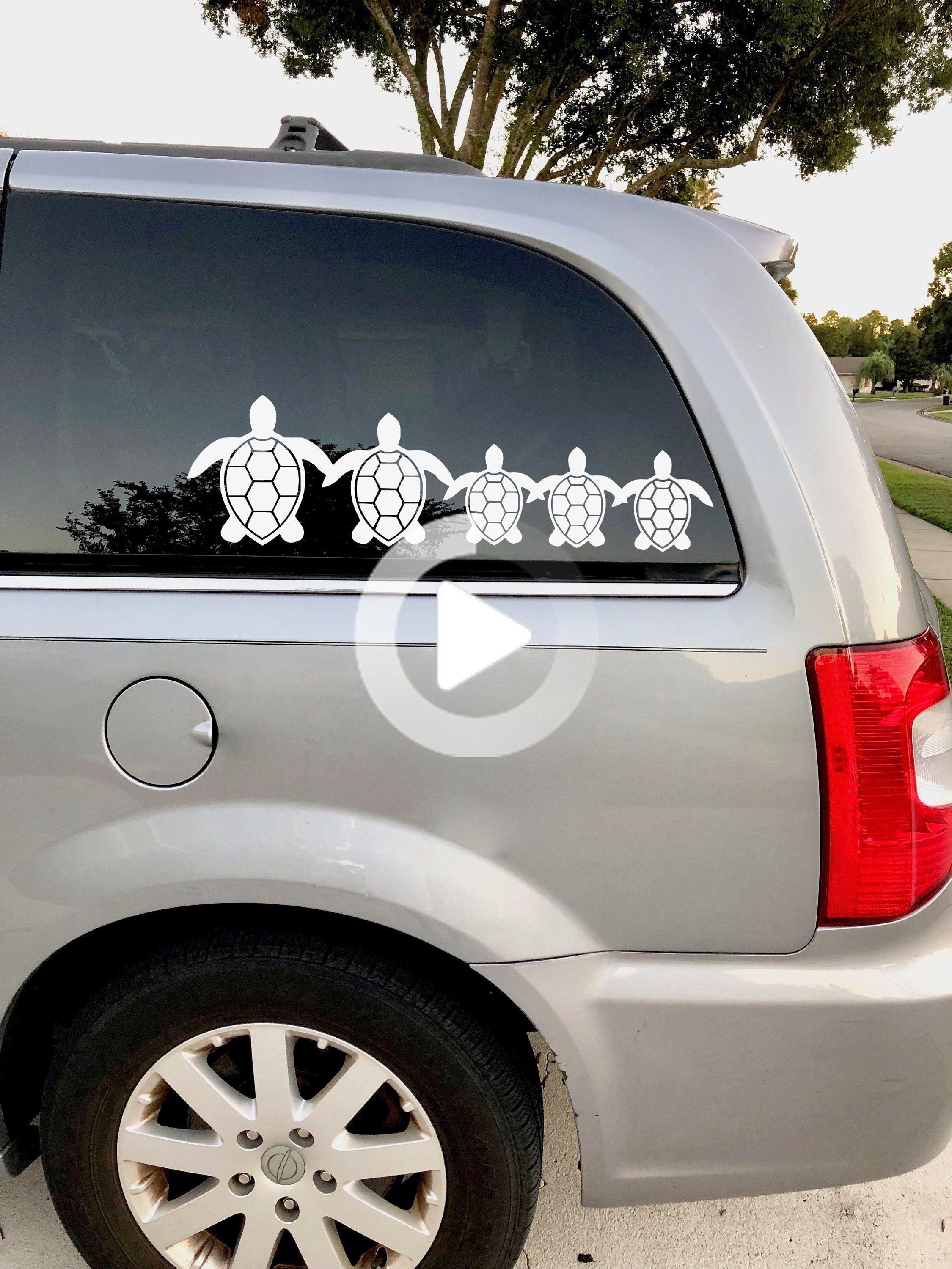 Turtle Family Vinyl Decal Turtle Car Decal Tropical Car Etsy In 2020 Turtle Car Vinyl Decals Family Car Decals [ 3000 x 2250 Pixel ]