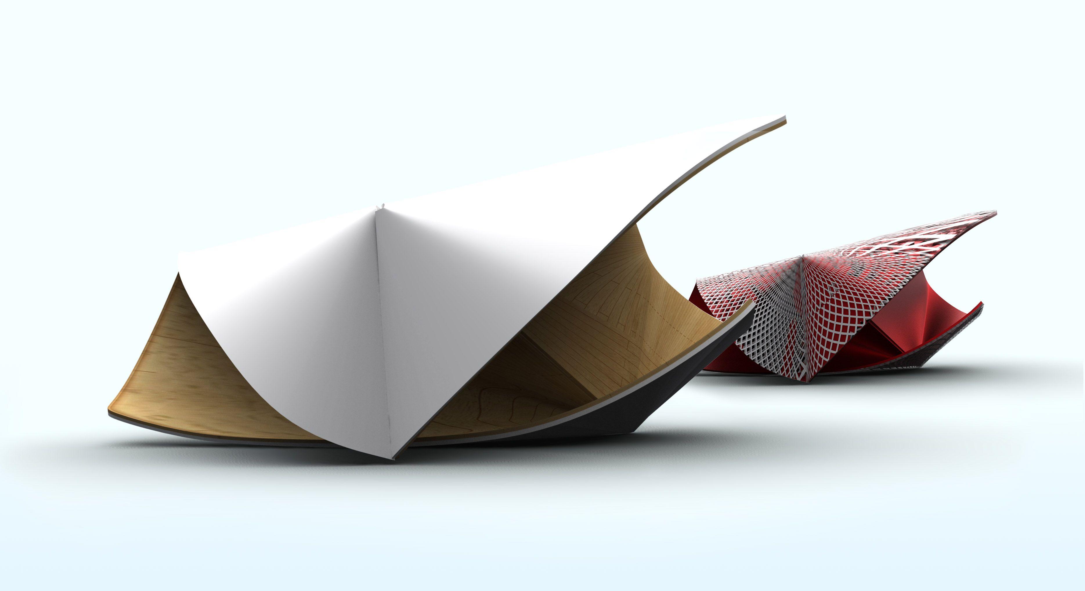Folded Paper Shapes