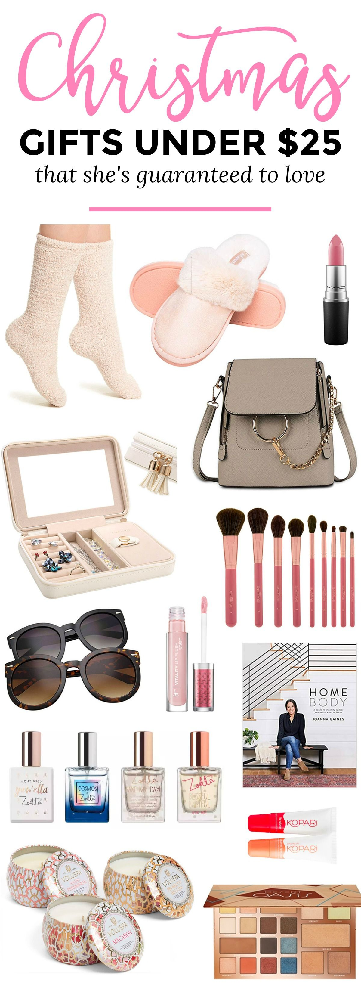 The best Christmas gift ideas for women under $25! No ...