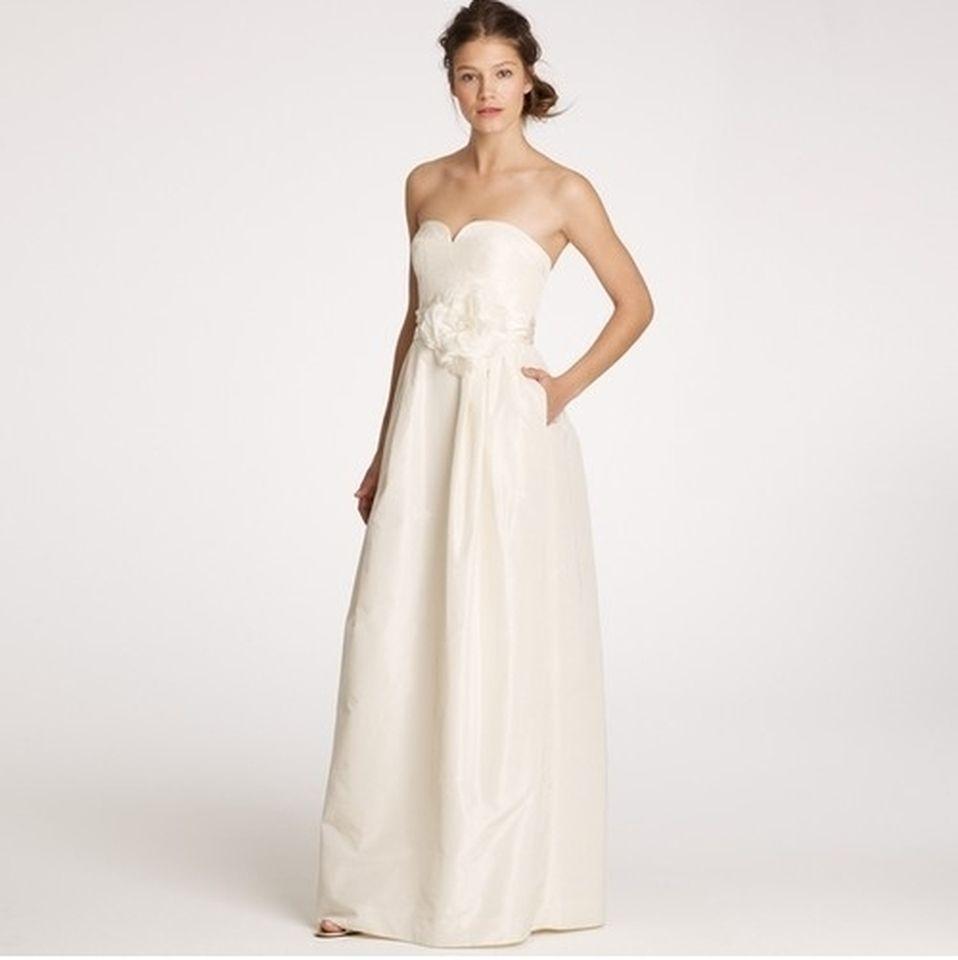 preowned wedding dresses j crew   www.SafeListBuilder.com ...