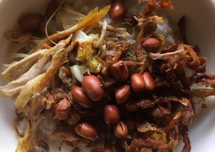 Resep Bubur Ayam Bandung Oleh Jovita Adeline Resep Makanan Resep Makanan Slow Cooker