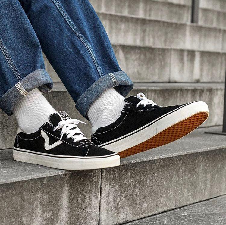 Großhandel Vans Old Skool Sneakers Günstige Marke Vans Alte Skool Angst Vor Gott Männer Frauen Leinwand Turnschuhe Klassische Schwarz Weiß YACHT CLUB